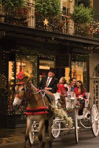 Christmas, New Orleans Style!  It's not too early to make plans to spend an unforgettable Christmas in New Orleans. Exquisite sights, wonderful Creole food, attractive hotel rates, and jazz concerts abound. It's all here during Christmas New Orleans Style, a month-long celebration that offers long-treasured Creole traditions spiced with 21st-century fun.