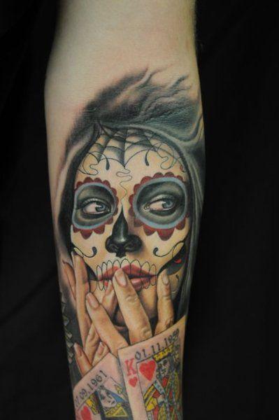 v ce ne 20 nejlep ch n pad na t ma girl face tattoo na pinterestu tetov n portr t mistr. Black Bedroom Furniture Sets. Home Design Ideas