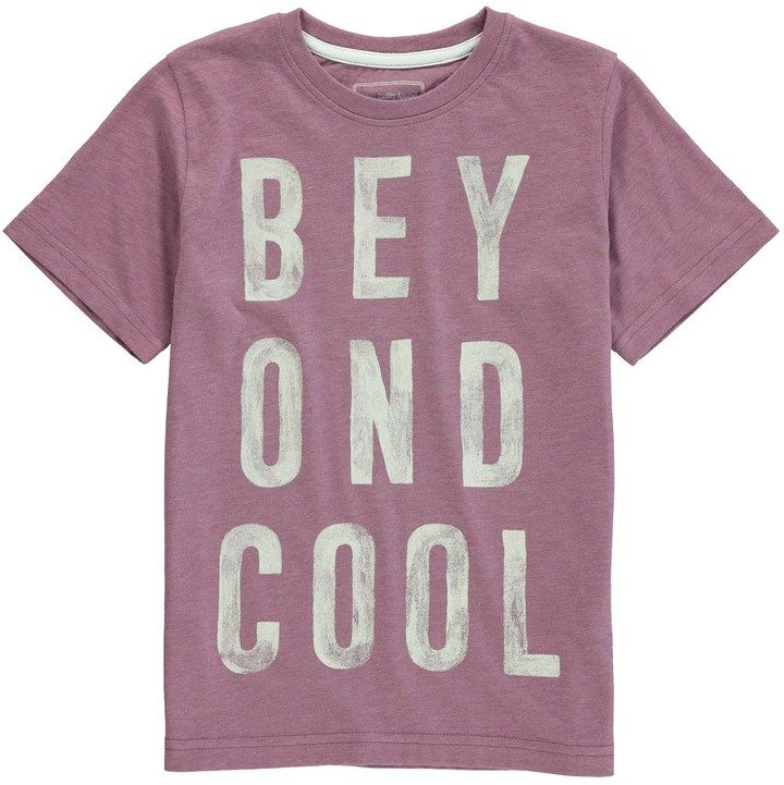 Shop for Boys Beyond Cool Slogan T-Shirt (3-13yrs) at ShopStyle. Now for Sold Out.