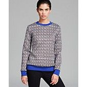 Nonoo Top - Neoprene Heart Sweatshirt
