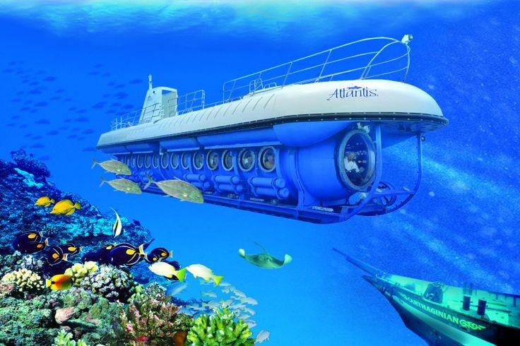 Odyssey Submarine - Tempat Wisata Baru di Bali 2016