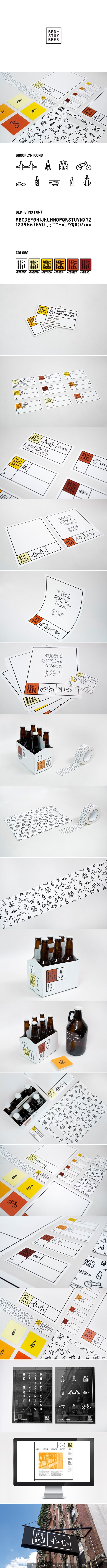 Bed-Stuy Beer Rebrand on Behance