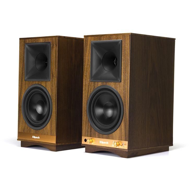 Klipsch The Sixes Powered Monitors | Premium Sound