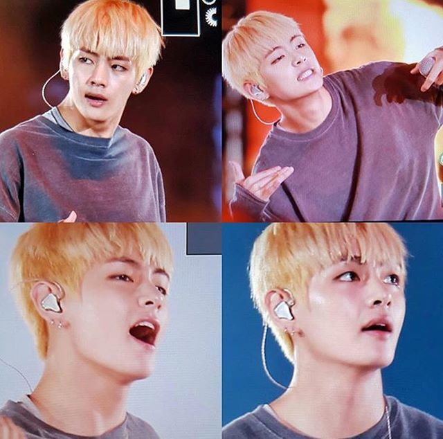 BTS Wings Taehyung - HIS BLONDE HAIR THO
