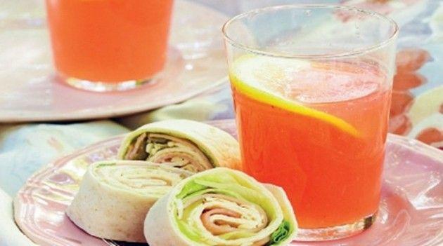 Home made Pink Lemonade recipe #OHbaby!