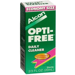 #manythings #OPTI-FREE #DAILY CLEANER 20ML ALCON LABORATORIES INC