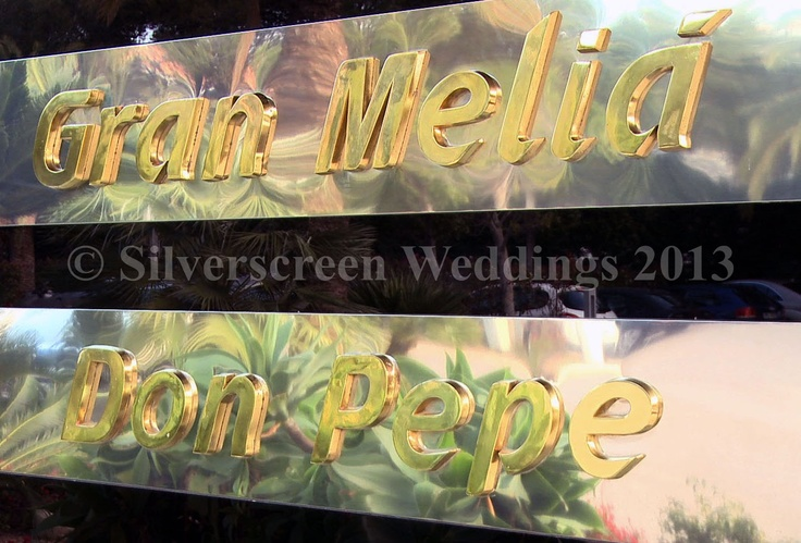 Gran Melia Don Pepe Wedding - Marbella Video Productions by Silverscreen Weddings Spain.  www.marbellavideos.com info@marbellavideos.com