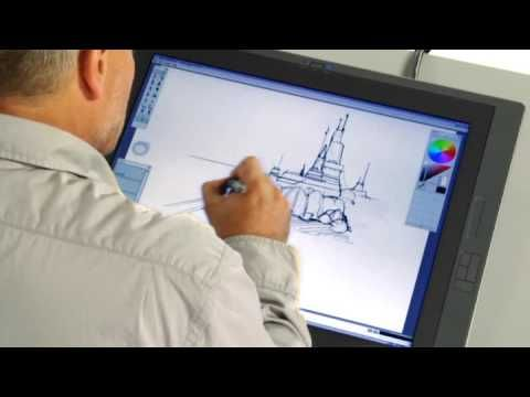 Sketching Architectural Concepts with Sketchbook Pro