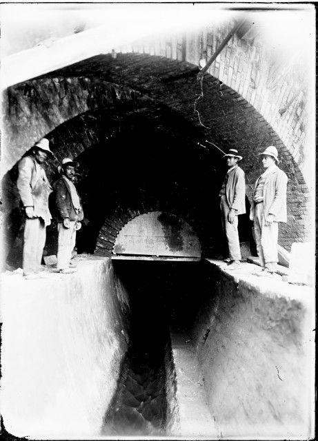 [Canalización Río San Francisco] / Anónimo / c.a. 1910 / Fondo Luis Alberto…