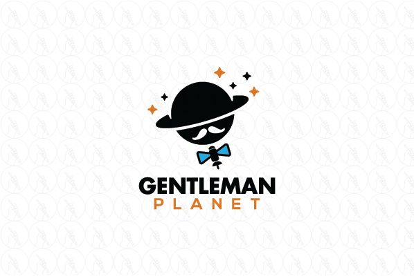 Gentleman Planet - $250 (negotiable) http://www.stronglogos.com/product/gentleman-planet #logo #design #sale #education #space #satellite #education #astronomy #classes