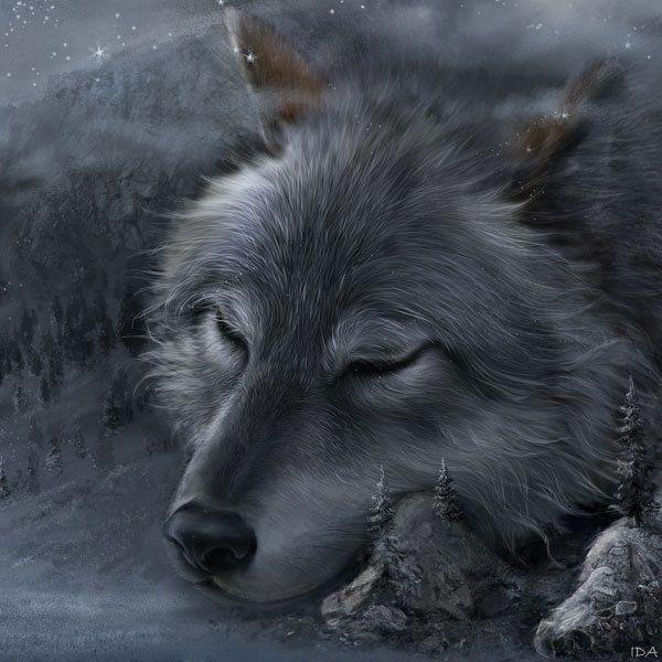 Legends of Tengry, digital art by Irina Druchinina - ego-alterego.com