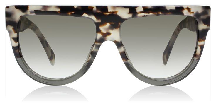 Celine Shadow Sunglasses : Shadow Tortoise / Grey / Brown : UK