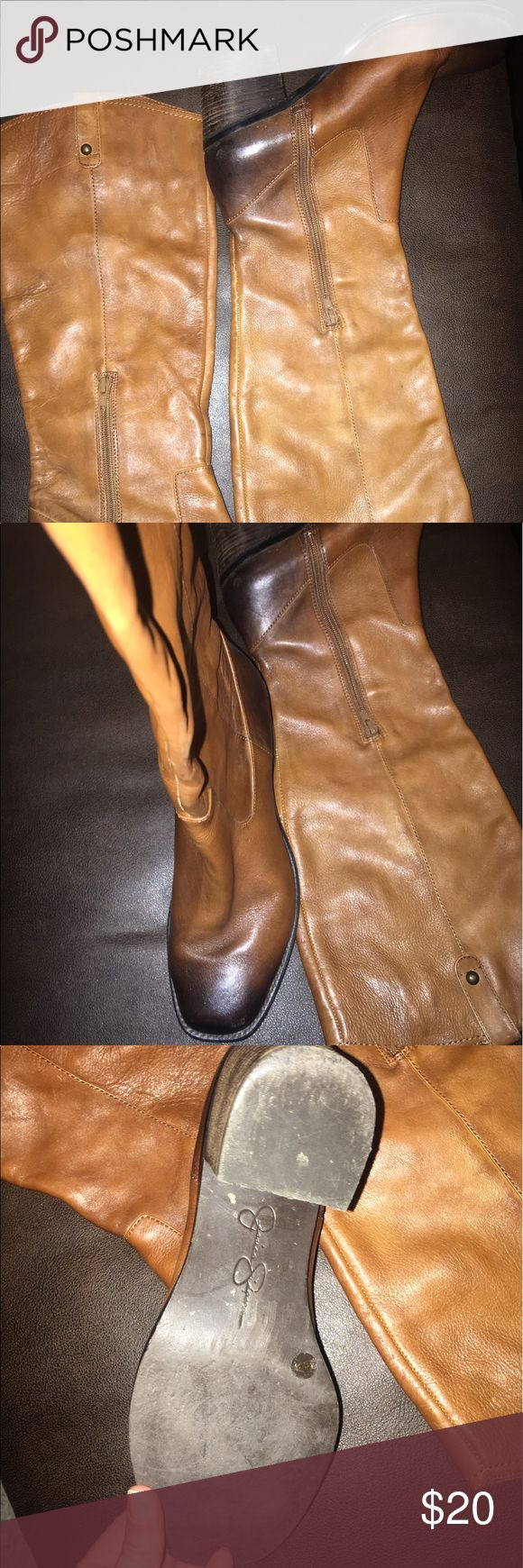 Jessica Simpson boots Jessica Simpson tall knee boots. Jessica Simpson Shoes Heeled Boots