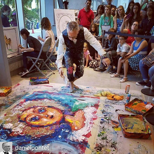 Credit to @danielpontet : My favorite time of my creation when splashing paint... the mess. Like this artistic touch on my canvas. Great moment sharing stage with HAAS young artists. #DanielPontet #ImpulseArt #experience  #jazz #strings  #hollywoodtapfl #hollywoodfl #hollywoodflorida #hollywoodbeach #downtownhollywood #miami #fortlauderdale #ftlauderdale #aventura #dania #daniabeach #hallandale #hallandalebeach #davie #pembrokepines #miramar @hollywoodtapfl