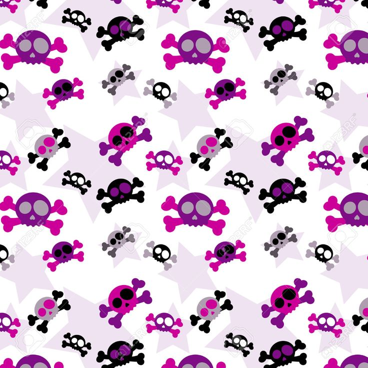 125 best girly skulls and bones wallpapers images on pinterest girly skull background vector image on vectorstock voltagebd
