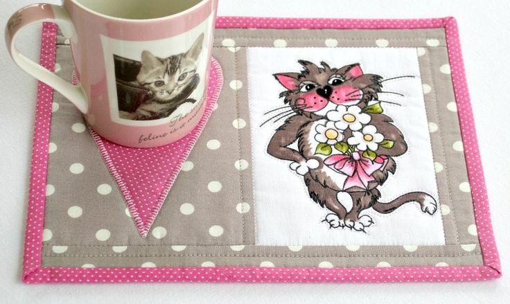 1300 Best Images About Quilted Mug Rugs On Pinterest