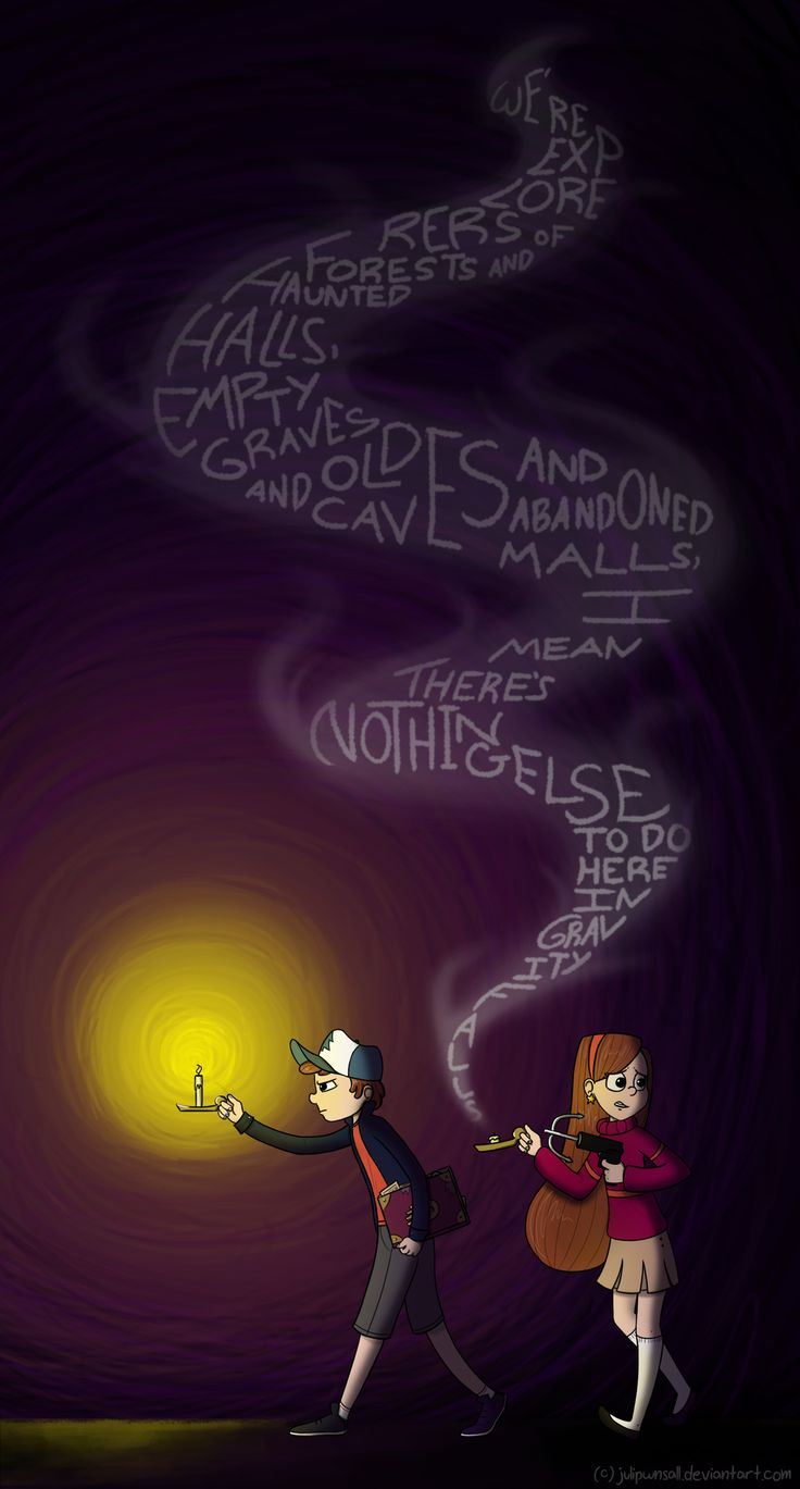 Nothing else to do here in Gravity Falls by JuliPwnsAll.deviantart.com on @deviantART