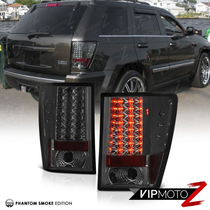2007 2010 jeep grand cherokee wk srt8 l r smoke led smd. Black Bedroom Furniture Sets. Home Design Ideas