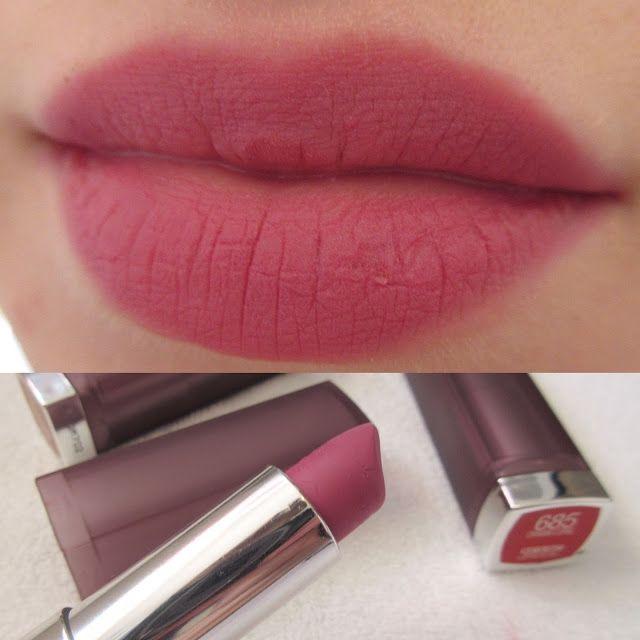 Maybelline Lust For Blush Color Sensational Creamy Matte Lipstick