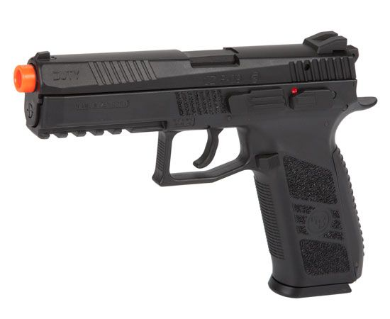ASG CZ P-09 Duty FPS-279 Blowback Green Gas Airsoft Pistol Find our speedloader now!  http://www.amazon.com/shops/raeind