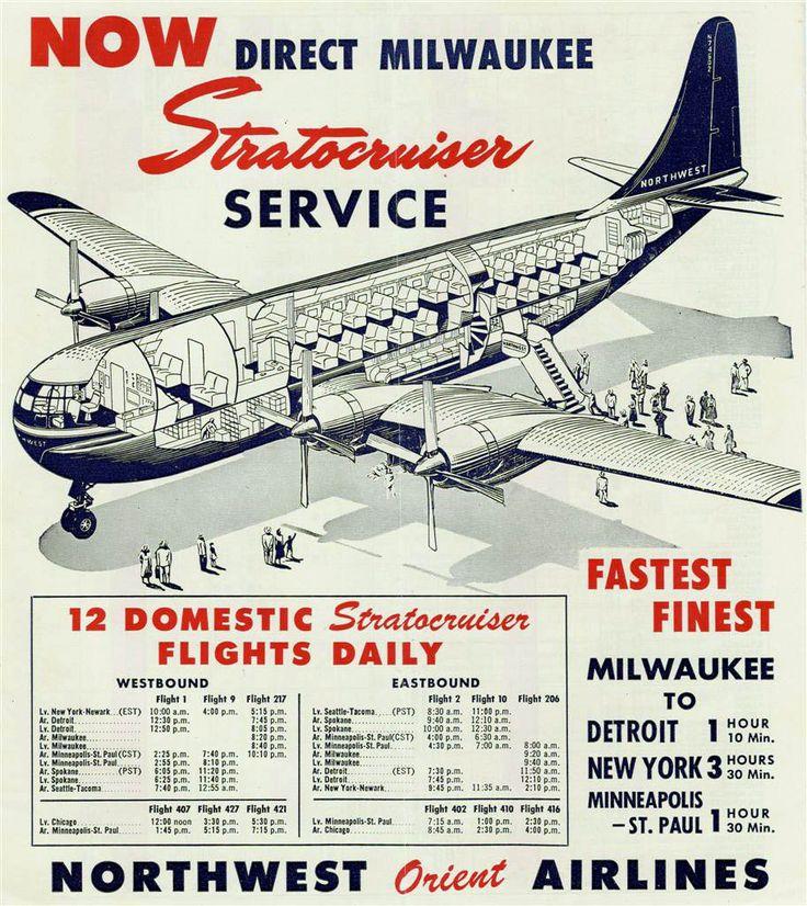 1950 - Boeing 377 Stratocruiser insert
