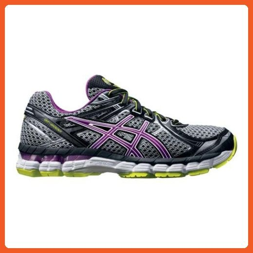 ASICS Women's GT 2000 2 Running Shoe,Black/Orchid/Flash Yellow,6