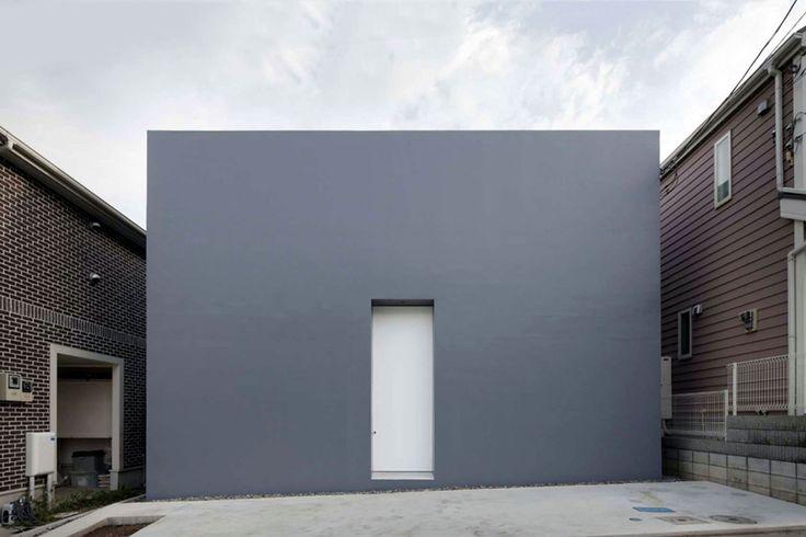 5 modern Japanese houses without windows: Cube House by Shinichi Ogawa & Associates - Japanese Design