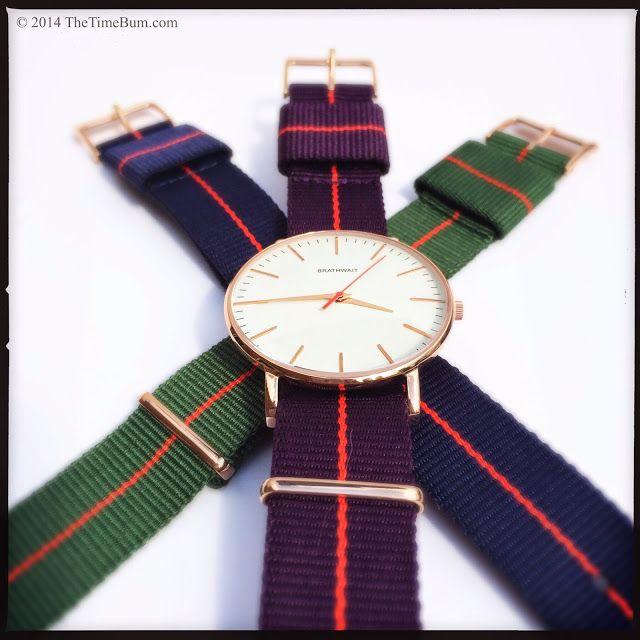 Brathwait Classic Slim Wrist Watch | The Time Bum
