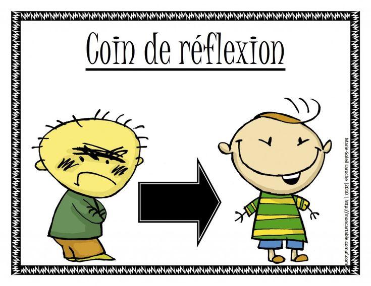 Coin de réflexion - chd école