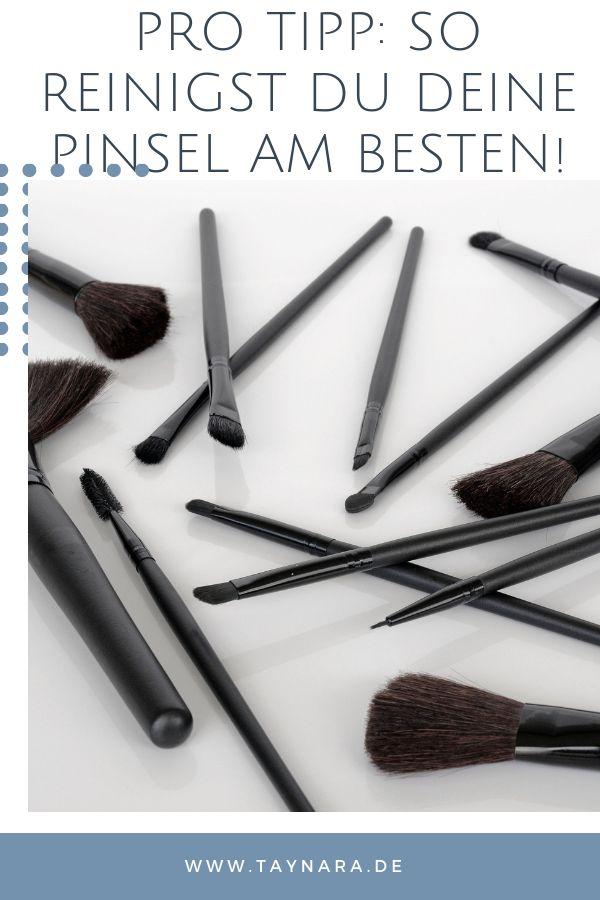 Beauty Pro-Tipp!: So reinigst du deine Pinsel richtig! // Türchen 3