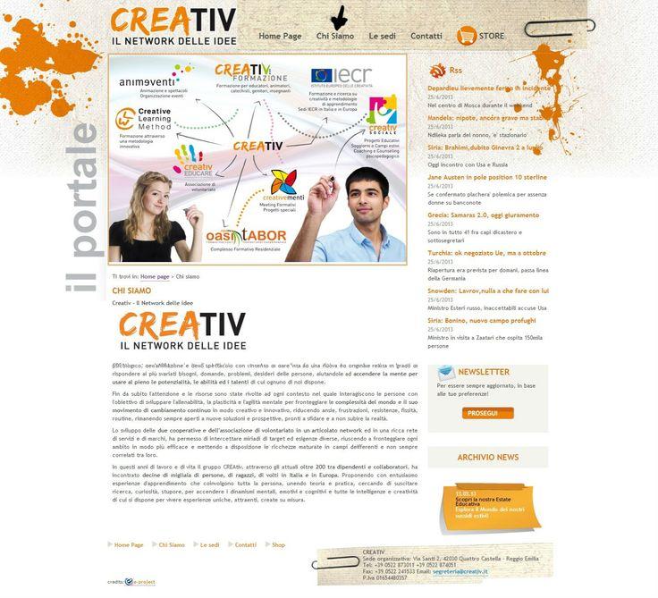 Creativ: il network delle idee.  http://www.creativ.it/