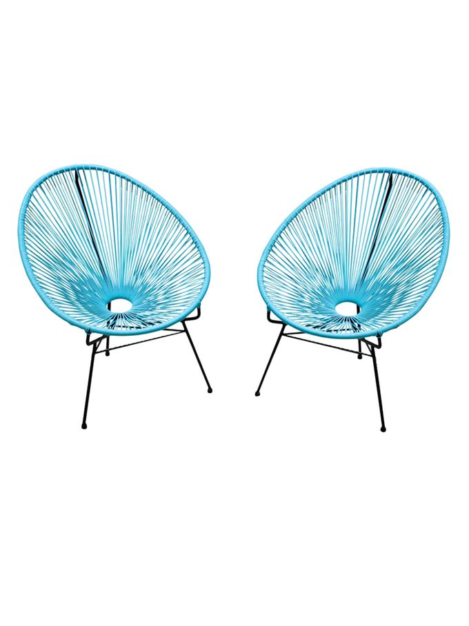 Acapulco Lounge Chairs (Set of 2) from Midcentury-Inspired Outdoor Style on Gilt