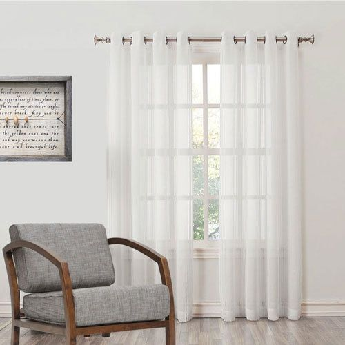 Buy your sheer curtains online and SAVE over 50%. Quickfit Curtains has the best value guaranteed! Free fabric samples