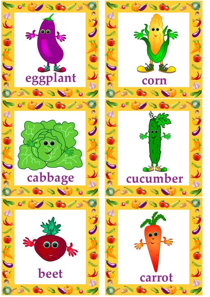 vegetable flashcards#English language#esl flashcards