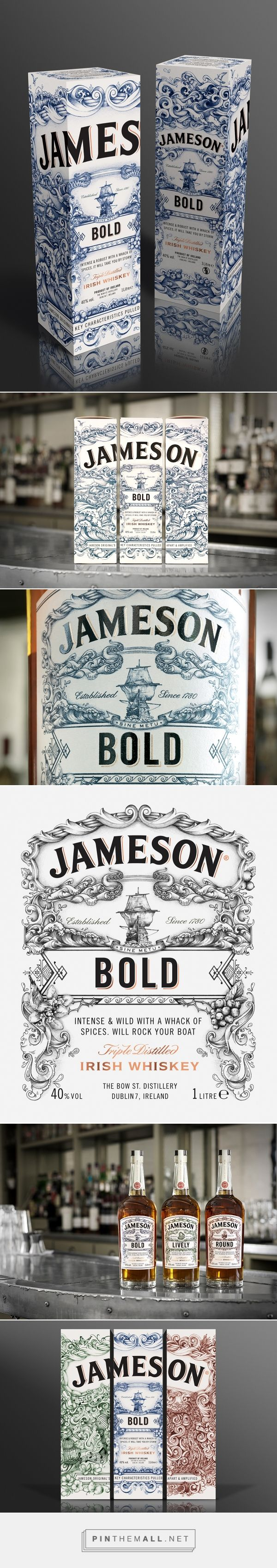 Jameson Whiskey - Deconstructed Series 'BOLD' (Bottle Packaging)