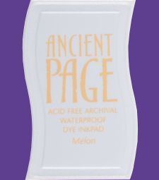 Clearsnap Ancient Page Ink Pad - Amethyst Permanent, acid-free, waterproof. $2.50