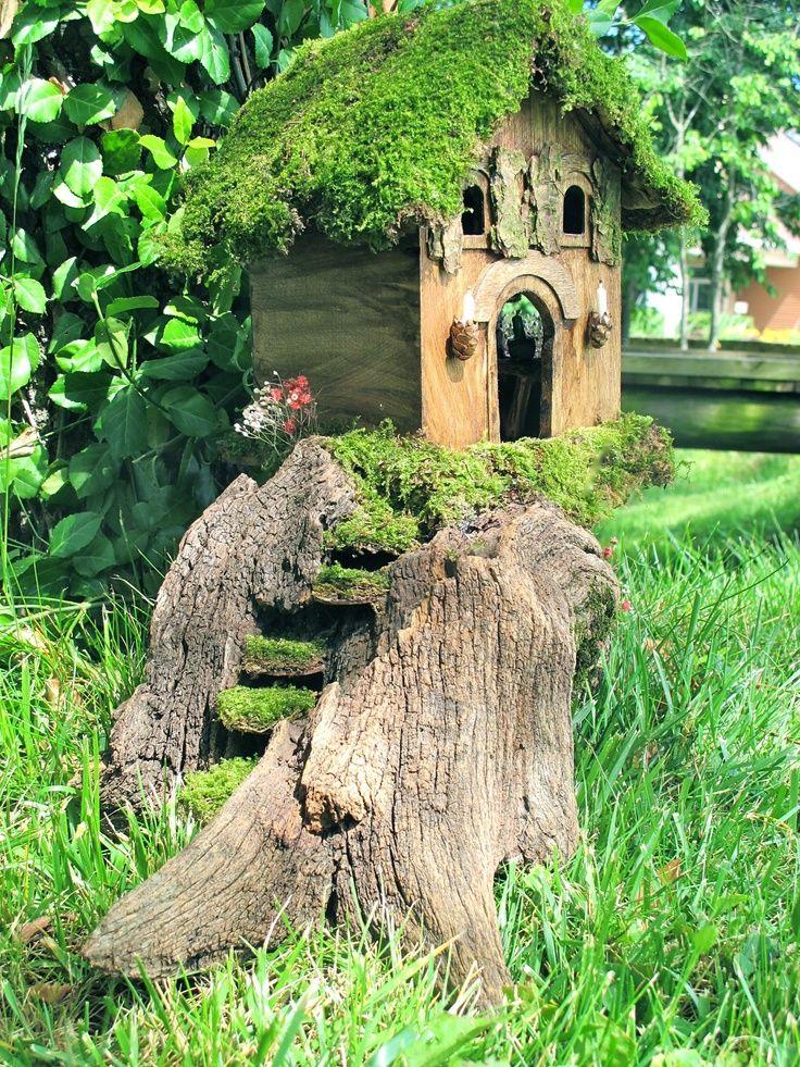 O'Gowna Small Fairy Door & Windows — QVC.com | Fantasy fun ...  |Fairy Garden Ideas Ireland