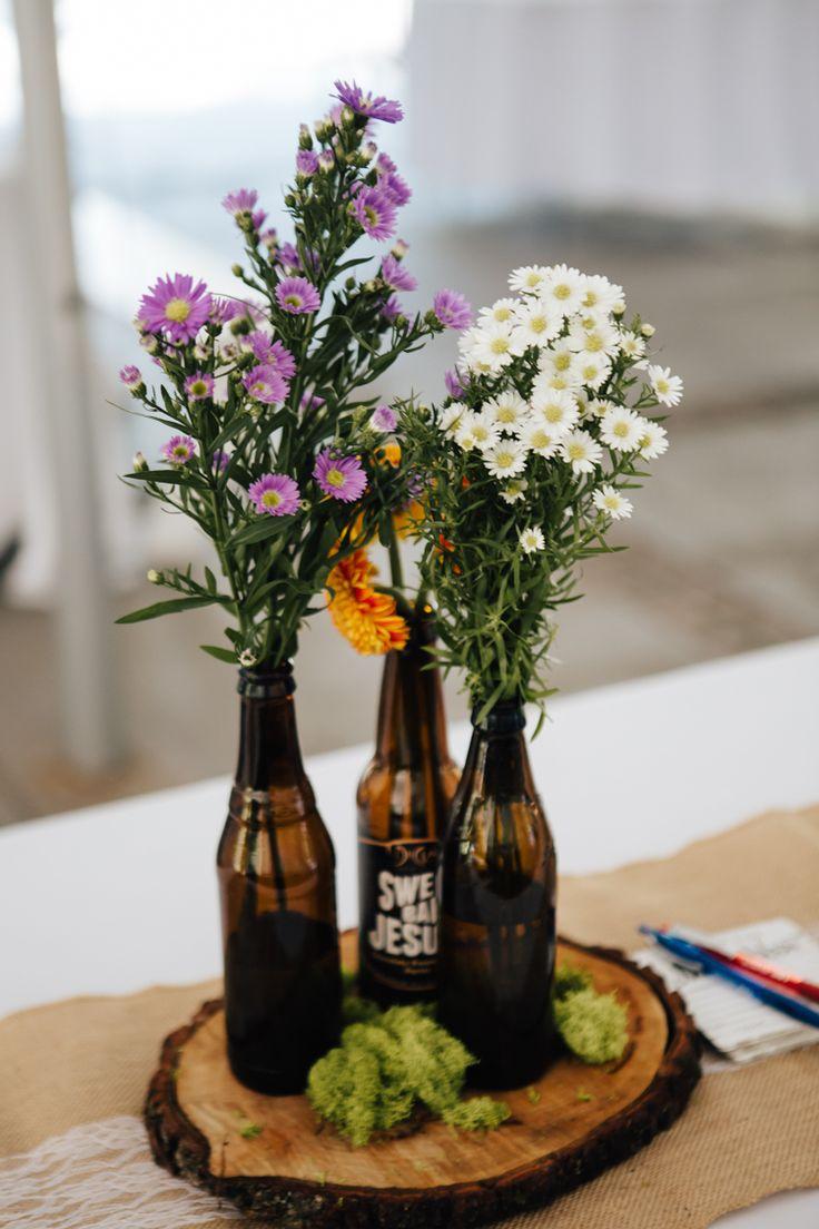 best 25  beer bottle centerpieces ideas on pinterest