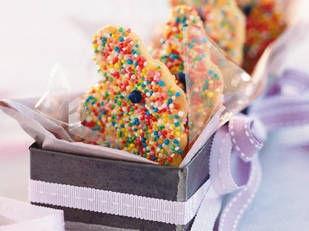 Rabbit sprinkle cookies