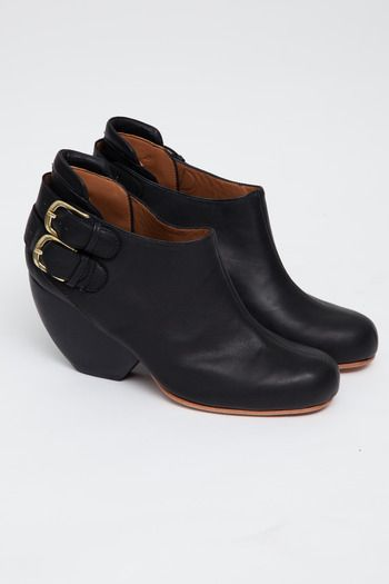 Rachel Comey Women's - Black Barbaro Buckle Boot | acrimony sf