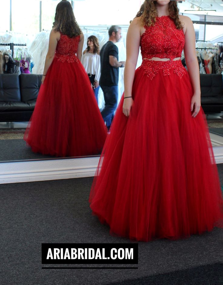 The 16 best Red prom dress in San Diego aria bridal images on ...