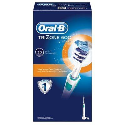 Chollo en Cepillo de dientes eléctrico Oral-B TriZone 600 Si querías mejorar tu higiene dental, aprovéchate de este chollo para pasarte a un cepillo eléctrico Oral-B a mitad de precio.  Chollo en Amazon España: Cepillo de dientes eléctrico Oral-B TriZone 600 por solo 26,90€, es decir, un 49% de descuento sobre el precio de venta recomendado