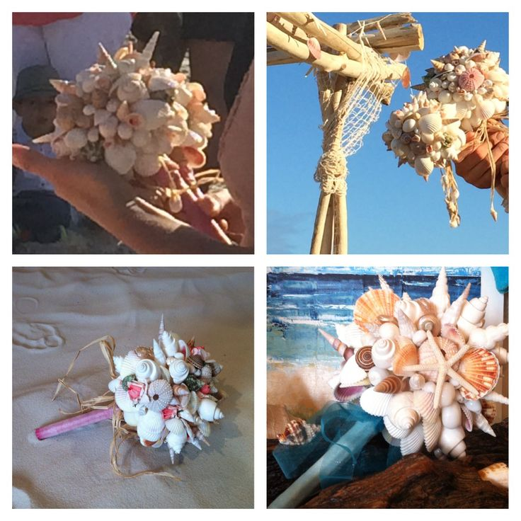 Tres Noosa customise shell bouquets. Come and check us out in our shop in Noosa. Shop 7, Arcadia street, Noosa Junction or go online to www.shellsbypauline.com