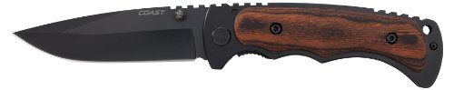 Coast FX411 Frame Lock Folding Knife 4-Inch Blade Coast…