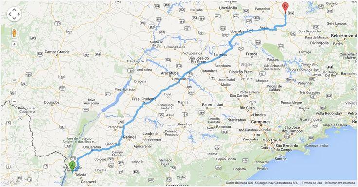 Como ir da cidade de Londrina (Paraná) para Tubarão (Santa Catarina) de carro. Veja o trajeto completo e quais as principais rodovias do percurso.