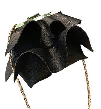 Flare Peplum Bag in Black - Peplum skirts are already yesteryear so why not get your hands on this gorgeous and stylish peplum bag that makes you look like you're standing at the forefront of fashion?