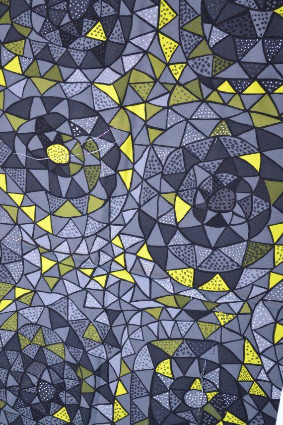 Viola Gråsten. https://www.etsy.com/listing/162725105/retro-fabric-swedish-design-grey-yellow