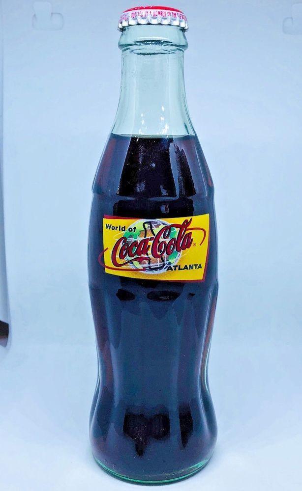 World of Coke Atlanta Anniversary Coca Cola Bottle Unopened 8 oz New Mint #CocaCola 3.9.18