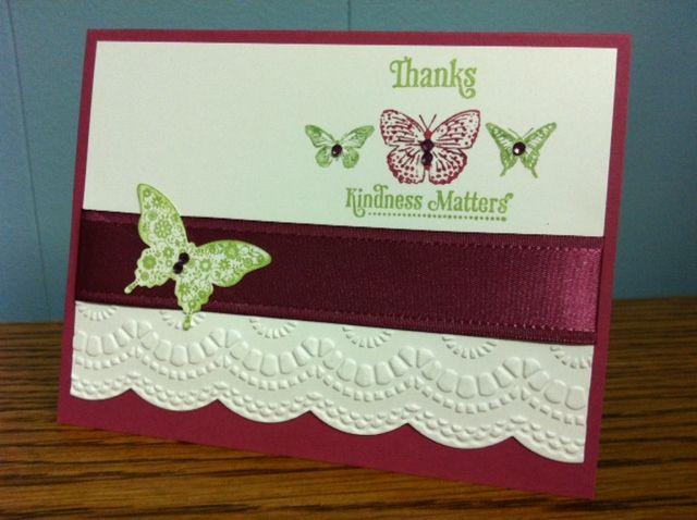SU Kindness Matters, Papillon Potpourri, Elegant Butterfly punch, Delicate Designs E F, Large Scallop Edgelits