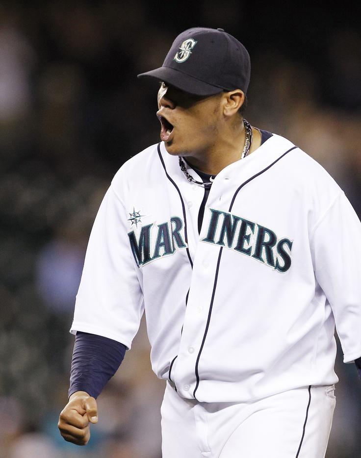KING ME: Felix K's 13, Jaso raps walk-off single in 1-0 win over Red Sox. 6/28/12Baseball Fanatic